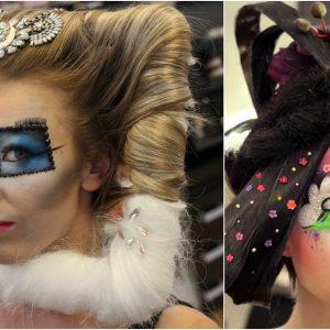 Fantāzijas make-up un pastiža darbi