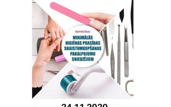Seminārs: Minimālās higiēnas prasības